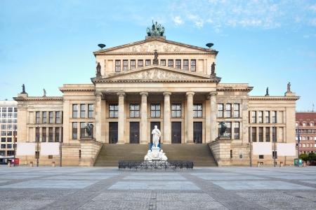 Concert hall in Gendarmenmarkt, Berlin 에디토리얼