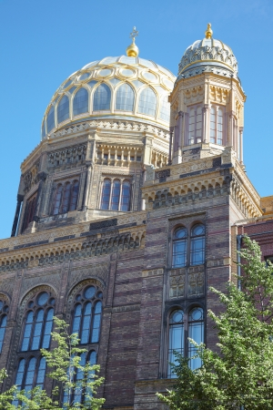synagoge: New Synagogue in Berlin Editorial
