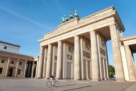 Brandenburg gate, Berlin photo