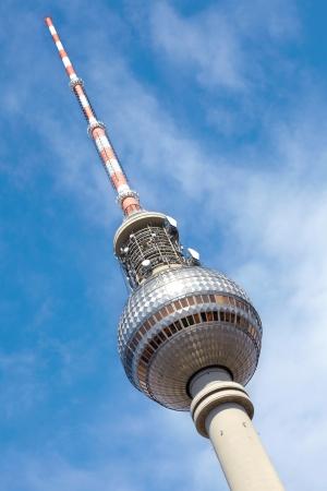 east berlin: Tv tower in Alexanderplatz, Berlin