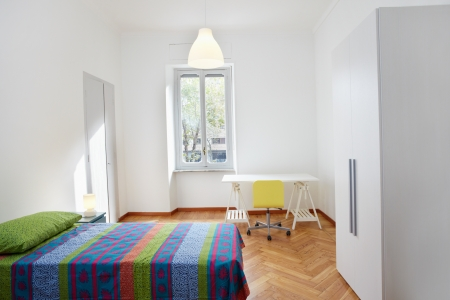 apartment: Bedroom in modern apartment
