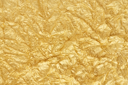 Gold foil seamless background texture Imagens