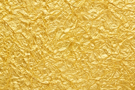 Gold foil seamless background texture Stock Photo