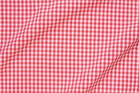 Tischdecke rot und weiß Textur Hintergrund, hoch detaillierte Standard-Bild - 21530123