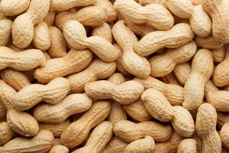 Peanuts in shell texture 版權商用圖片