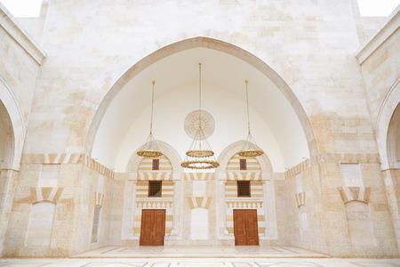 king hussein: King Hussein Bin Talal mosque in Amman, Jordan