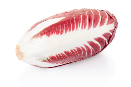 Radicchio, red salad isolated, clipping path included photo