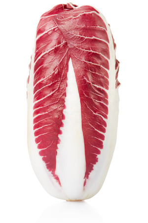 Radicchio, red salad isolated, clipping path photo