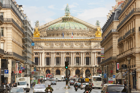 french culture: The Opera Garnier building in Paris