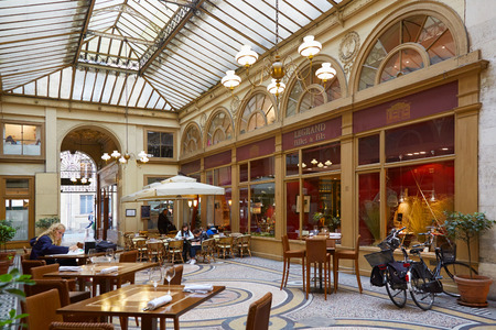 passages: Paris, Galerie Vivienne. These typical passages were built during the first half of the XIXth century.