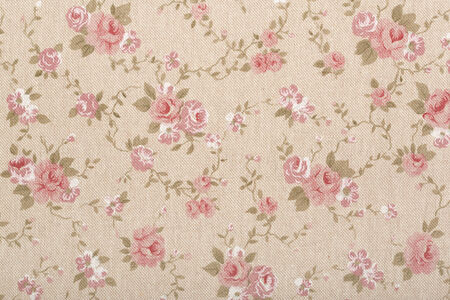 Floral tapestry, romantic texture background