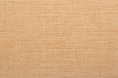 Canvas natural color burlap texture background Banco de Imagens
