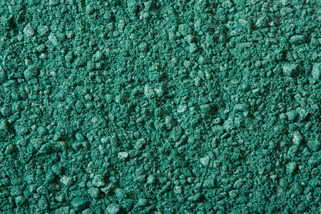 eye green: Sombra de ojos verde machacado, maquillaje en polvo de textura de fondo
