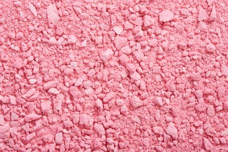 Sombra de ojos rosa textura en polvo de fondo