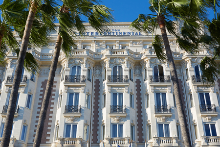 intercontinental: Luxury hotel InterContinental Carlton in Cannes, French Riviera