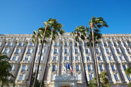 intercontinental: Cannes, luxury hotel InterContinental Carlton on La Croisette boulevard