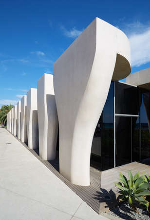 rudy: Jean Cocteau Museum, contemporary architecture hosts the Severin Wunderman Collection in Menton