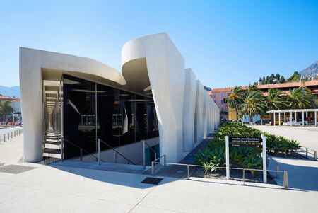 rudy: Jean Cocteau Museum, contemporary architecture in Menton Editorial