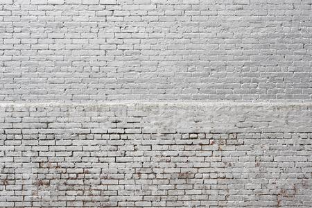 White zilver bakstenen muur textuur achtergrond Stockfoto - 69534493
