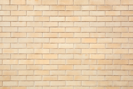 tiled wall: Beige bricks tiled wall texture background Stock Photo