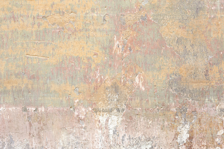 Old chipped and scratched wall texture background Imagens