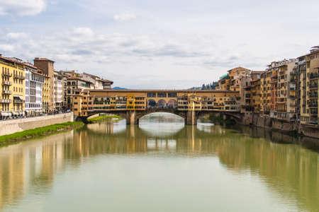 ponte vecchio: Ponte Vecchio in Florence Stock Photo