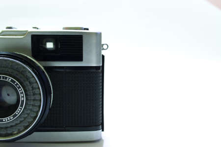 compact camera: Vintage compact camera viewfinder