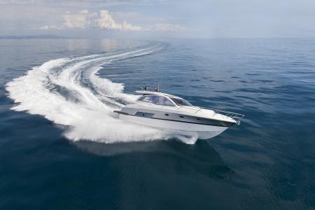boat: motor boat