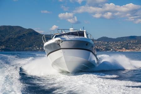 Motorboot, rio Yachten Italien Standard-Bild - 24381989