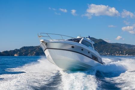 Motorboot, rio Yachten Italien Standard-Bild - 24382160