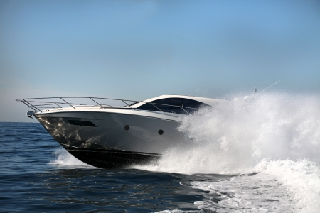 motor boat, yacht Stock Photo - 24376660