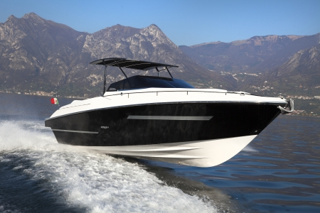 motor boat, yachts Italy Stock Photo - 24384005