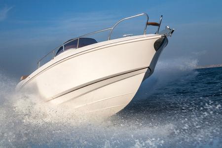 motor boat jump