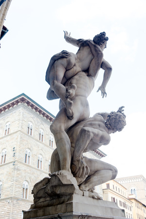 speculate: The Rape of the Sabine Women, Giambologna, Florence, Italy