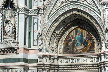 love dome: Pinnacle of the dome of Santa Maria del Fiore, Florence, Italy