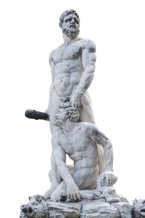 Hercules and Cacus statue at Piazza della Signoria i Florence, Italy.