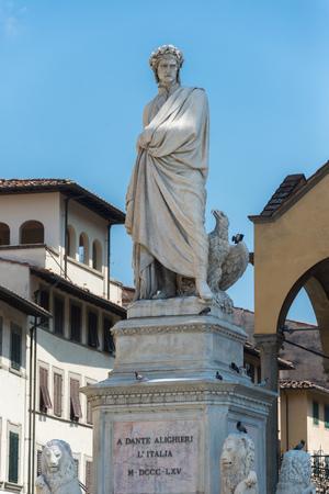 dante alighieri: The famous poet Dante Alighieri Stock Photo