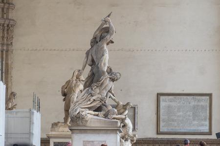 pio: The Rape of Polyxena sculpture, Pio Fedi, Florence, Italy