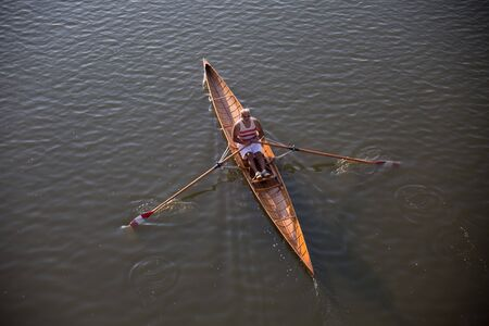 canoeist: Canoeist (view from above)