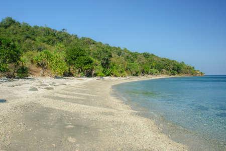 nusa: colar beach in nusa tengara, indonesia
