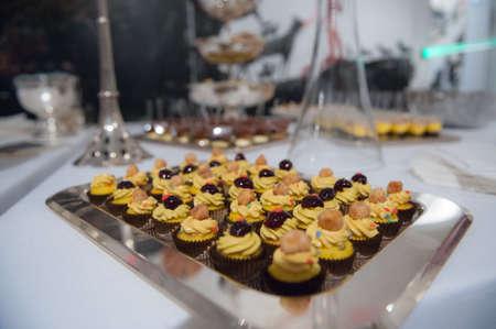 eggnog: pastries eggnog with black cherry