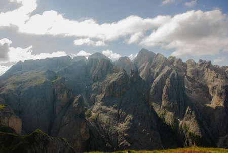 rosengarten: dolomites of natural park Sciliar-Rosengarten