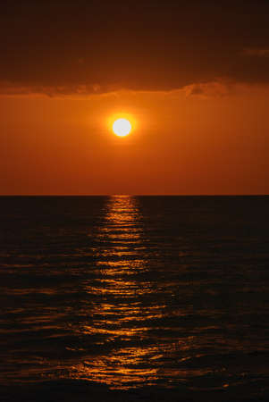 nusa: sunset in the nusa tengara sea