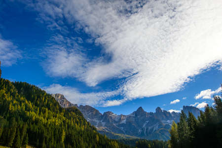 martino: Pale di San Martino in Autumn