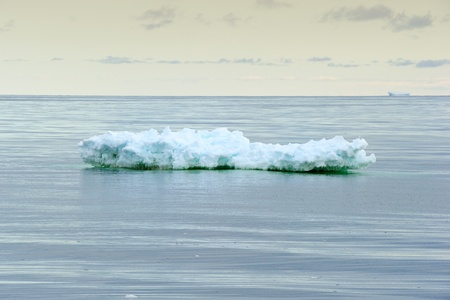 calving: Small iceberg in Ross Sea