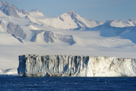 calving: Iceshelf at Antarctica