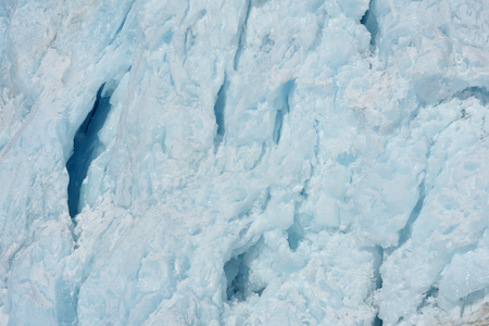 winterly: Detail off the front from a glacier ending at the pack ice in sea
