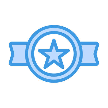 Best Seller icon in blue style for any projects, use for website mobile app presentation