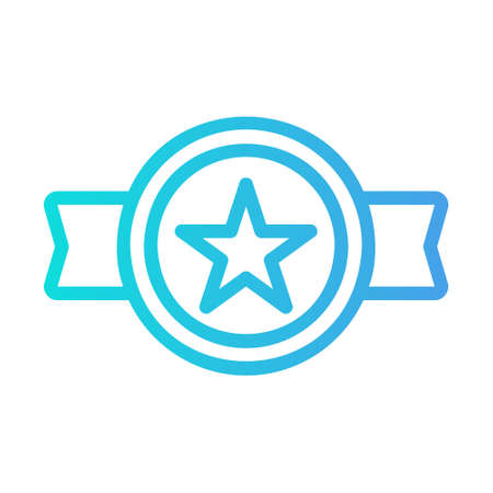 Best Seller icon in gradient style for any projects, use for website mobile app presentation Illustration