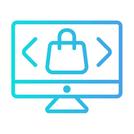 Select Product icon in gradient style for any projects, use for website mobile app presentation
